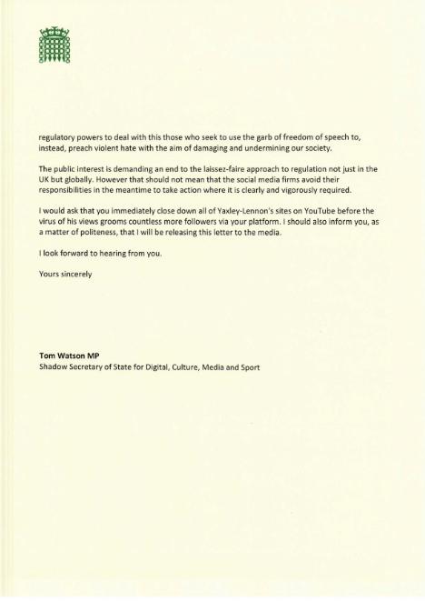 Watson letter 2